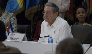 הנשיא הפורש ראול קסטרו