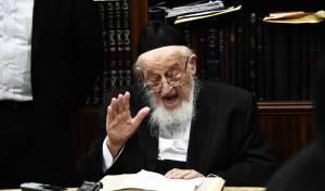 ראש הישיבה הגאון רבי מאיר צבי ברגמן