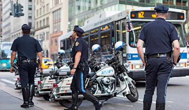 """שוטרים בארה""""ב"""