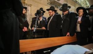 """הלווית הרבנית רבקה אזרחי ע""""ה • תיעוד"""