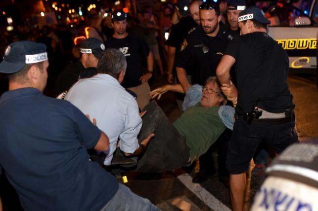 אחד המעצרים אמש