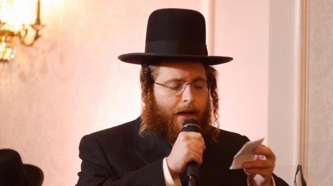 שלמה יעקב וובר ו'זמירות' במצווה טאנץ מרגש