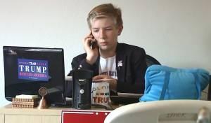 הילד שמנהל את הקמפיין של דונלד טראמפ