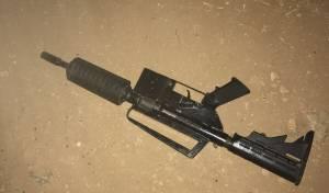 הנשק בו ירה המחבל