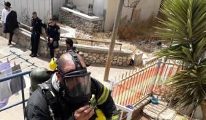 עשרות משפחות חרדיות פונו - בגלל שריפה