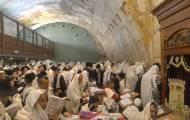 צפו: אלפי מתפללים הבוקר בכותל המערבי