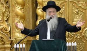 """הגאון רבי אליעזר כהנמן - נשיא ישיבת פוניבז' הגר""""א כהנמן - התארס"""