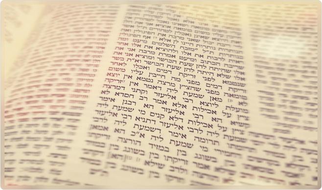 """הדף היומי: מסכת מנחות דף ז""""ך  יום חמישי כ""""ו באלול"""