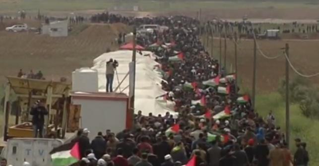 אלפי המפגינים