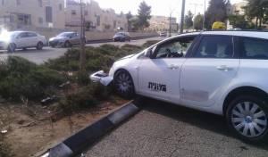 אילוסטרציה - בת 5 נפצעה מפגיעת מונית בשכונת בית וגן