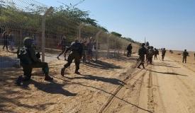 מחשש לפגיעה: צירים בגבול הרצועה נסגרו