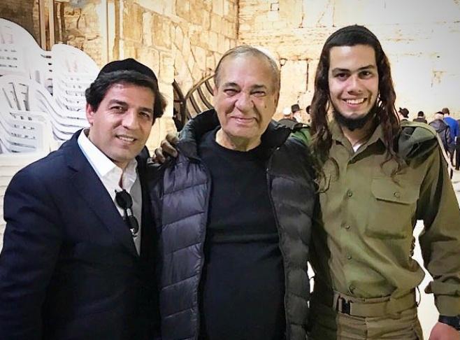 השחקן זאב רווח השתתף בטקס השבעת הנכד החרדי