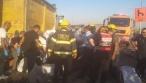 חרדי נפצע קשה בהתנגשות רכבו במשאית
