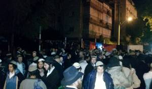 """צפו: רוקדים במחאה על מעצר חשודים בשב""""כ"""