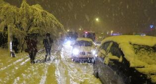 רכבים בכניסה לירושלים, בסוף השבוע