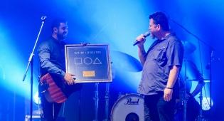 ישי ריבו קיבל אלבום זהב על אלבומו השני