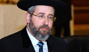 הרב הראשי הגאון רבי דוד לאו  עם וורט לליל הסדר