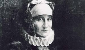 כך נראתה הרבנית גליקל מהמלין. ציור של לאופולד פיליחובסקי בתחילת המאה ה-20