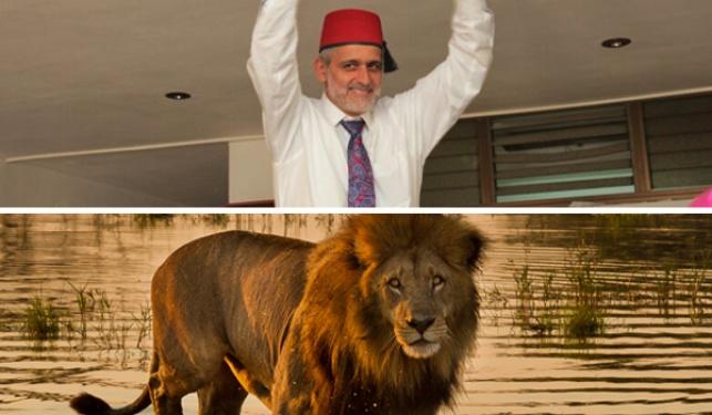 אלי ישי 'רכב' על אריה, התיעוד צונזר