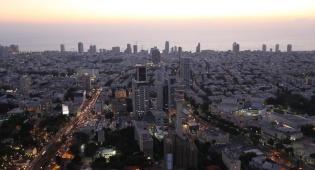 """הנוף מגג העולם. מגדלי עזריאלי - קבוצת """"עזריאלי"""" אירחה את התקשורת החרדית"""
