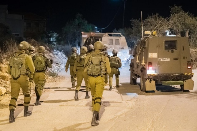 אילוסטרציה, חיילים בפעילות צבאית