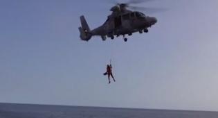 בלב ים: כלי שיט מתאבדים ומטוסי קרב. צפו