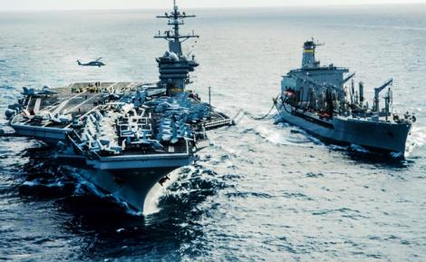 """פרובוקציה: סירות איראניות התגרו בארה""""ב"""
