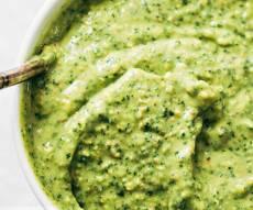 רוטב ירוק קסום שהולך עם הכל - תוך 5 דקות: רוטב ירוק קסום שהולך עם הכל