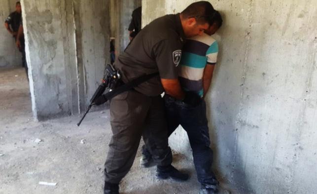 """26 שב""""חים פלסטינים נעצרו ביישוב חריש"""