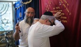 גלריה: מלקות 40 בבית הכנסת 'מוסיוף'