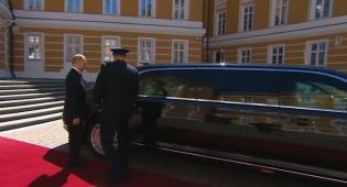 רכב חדש לולדימיר פוטין לימוזינה סנאט פורשה