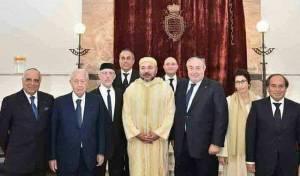מלך מרוקו בבית הכנסת