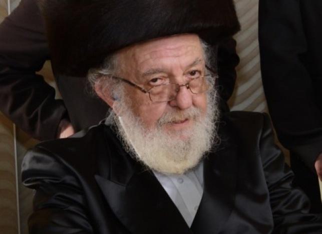 אביו של הרבי: הגאון רבי ישראל אשר פרנקל