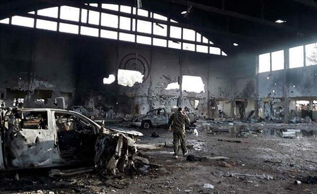 הבסיס שהותקף בסוריה