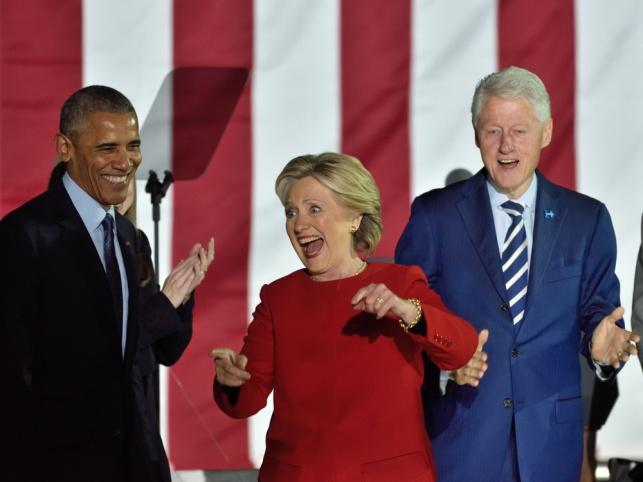 יום אחרי הם כבר לא צחקו, בעצרת הבחירות האחרונה