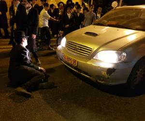 הפגנות בירושלים: 5 שוטרים נפצעו, קטין נעצר