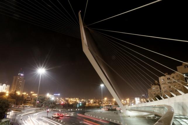 גשר המיתרים. ירושלים.