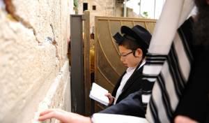 למחרת בר המצווה: מוישי הולצברג בכותל
