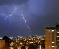ברקים בירושלים, אמש