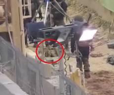 חיזבאללה תיעד: הרובוט לחשיפת מנהרות