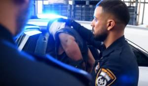 אחד המחבלים לאחר מעצרו