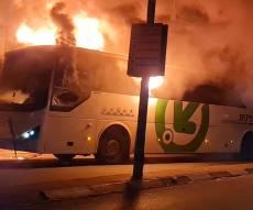 האוטובוס בוער