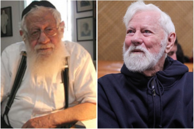 אורי אבנרי והרב איקא ישראלי
