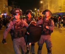 מעצר אחד מהמפגינים, אמש - עקשן: שוחרר לאחרונה ממאסר, ושב להפגין