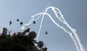 יירוט טילים בשמי ישראל. אילוסטרציה