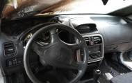 רכבו של האברך - נשרף; כך הוא הגיב • צפו