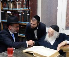 הרב גולדשטיין אצל מרן שר התורה - יותר ממיליון יהודים ישמרו מחר את השבת