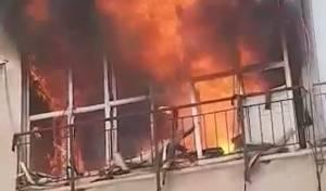 הילד זעק מתוך הבית הבוער - וחולץ מהאש
