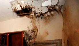 נס: רקטה מעזה פגעה בבית, ולא התפוצצה