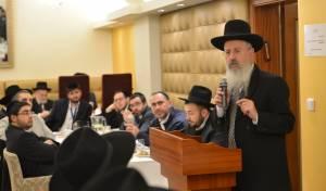 פראג: עשרות רבנים בכינוס מיוחד